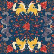 mexican horse pattern, fatface, accessories, tomorrows talent winner, princes trust, artist, illustration, winner