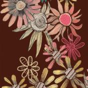 pattern, flowers, nature, surface pattern, design, illustration