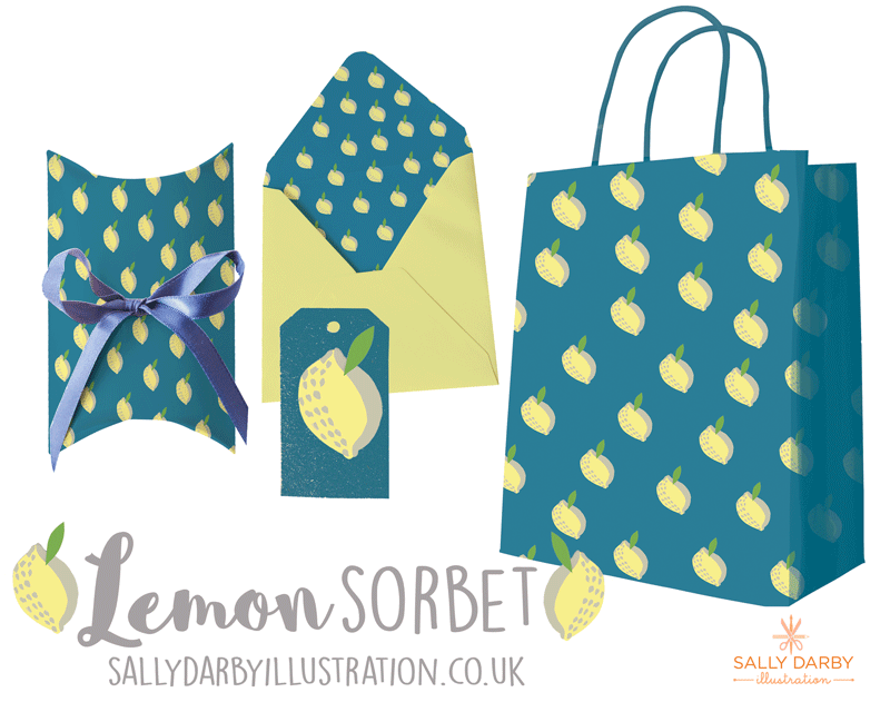 lemon, pattern design, conversational