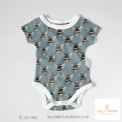 baby grow, bee, insects, kids design, pattern, conversationals