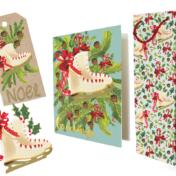 giftware set, new england, christmas, skate, repeat
