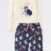 fox pajamas, fatface, kidswear