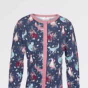 fox, fatface, pajamas, onesie