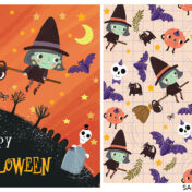 halloween, placement, pattern, spooky, cool, cute, kids, kids pattern, collection,
