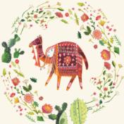 camel, cactus, licensing, moroccan, cactus