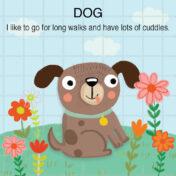 dog, pre school, kidslit, childrens book