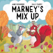 squirrels, autumns, publishing, red, grey, owlet press, kids picture book